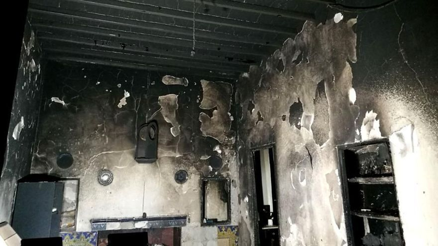 Un fallecido en una vivienda incendiada en Tárbena