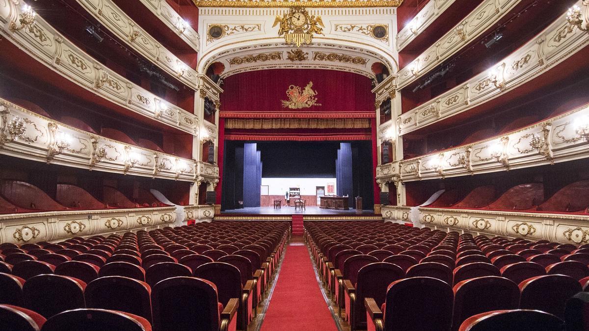 Teatro Principal de València, en una foto de archivo