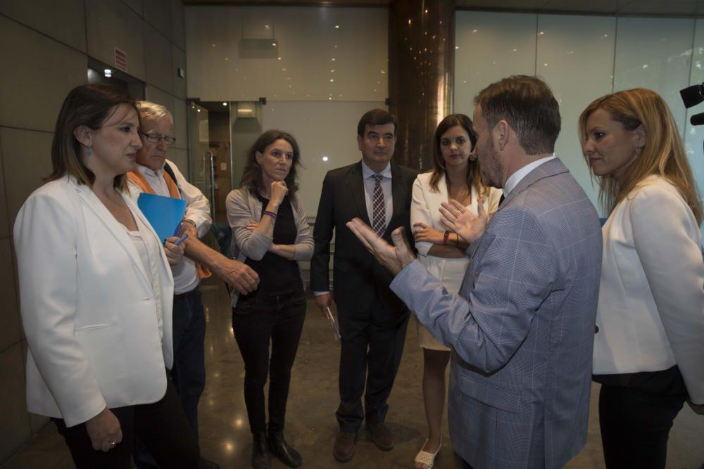 Debate entre los candidatos a la alcaldía de València