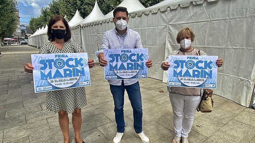 Comercios de Marín ocupan las 23 carpas de la segunda feria de oportunidades