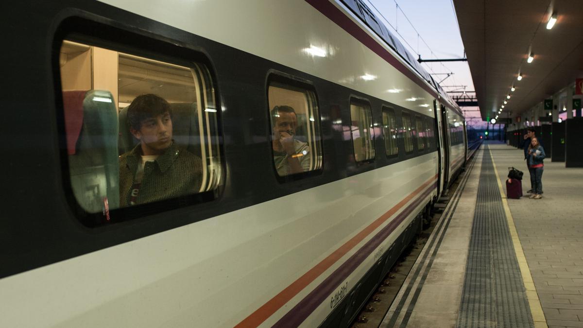 Estación de trenes de Zamora, antes de la pandemia.