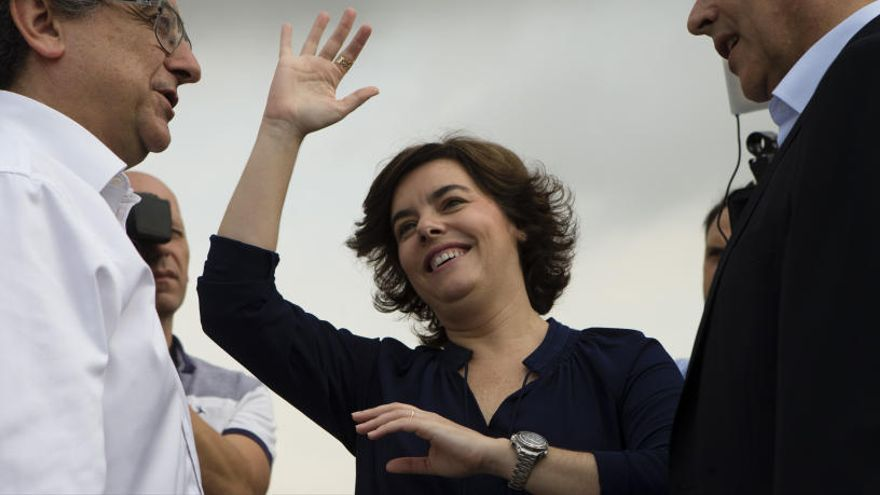 Santamaría se sent «com Chenoa» quan veu Sánchez: «quan tu hi vas, jo ja en vinc»