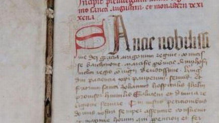La DGA cataloga el códice de Sijena que se iba a vender por 30.000 euros
