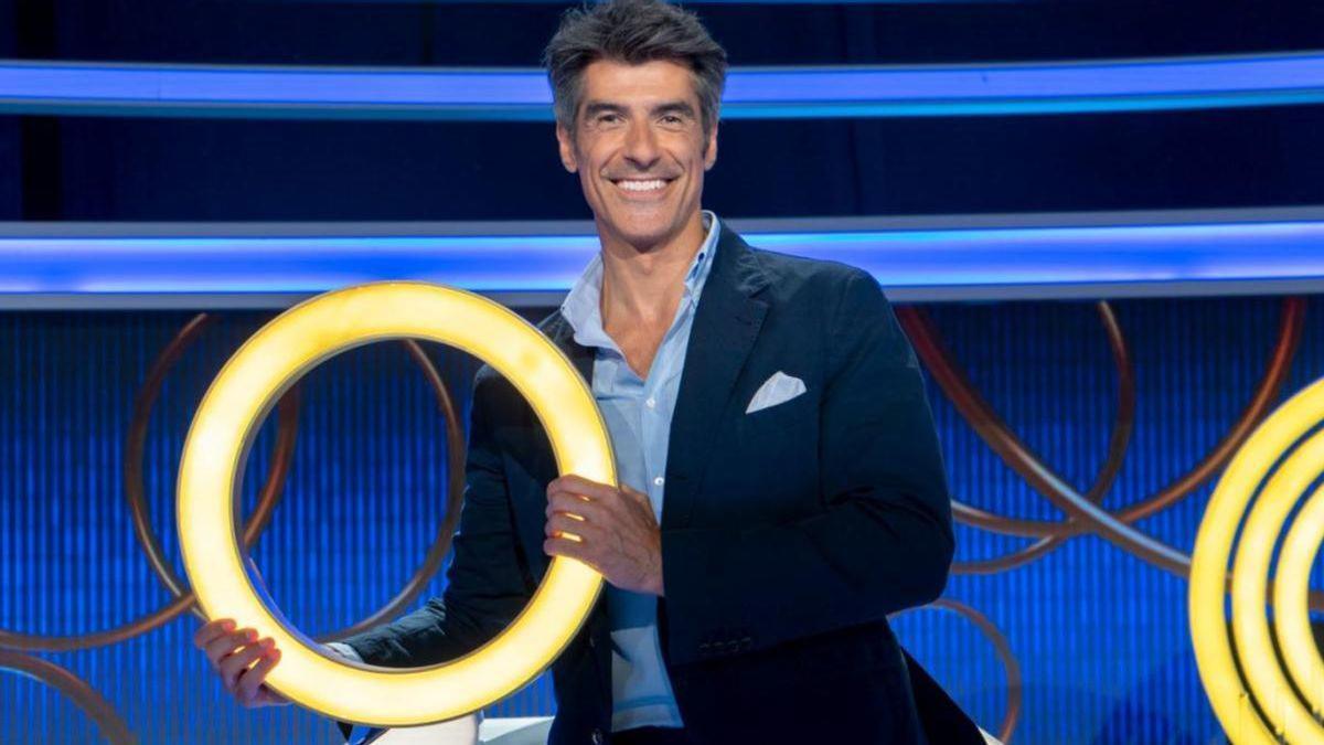 "Jorge Fernández, presentador de ""La ruleta de la suerte"""