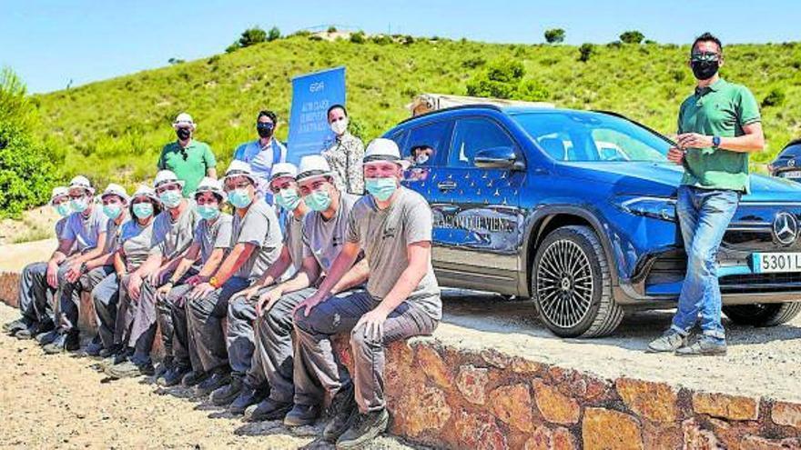 Auto Classe pone en marcha el programa 'Muévete por la naturaleza' con el Mercedes-Benz EQA como protagonista