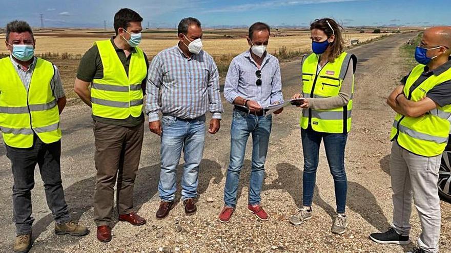 Las obras de refuerzo del firme de la carretera de Villalonso costarán más de 629.000 euros