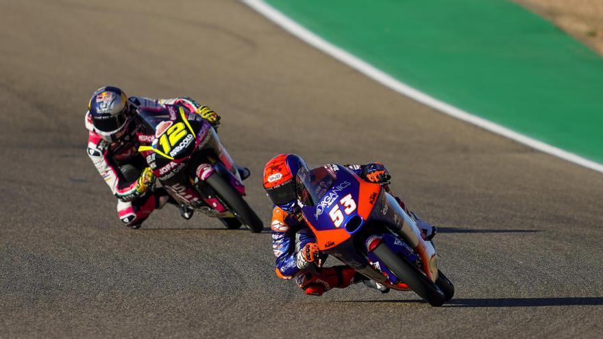 Así vivimos la carrera de Moto3 del GP de Teruel
