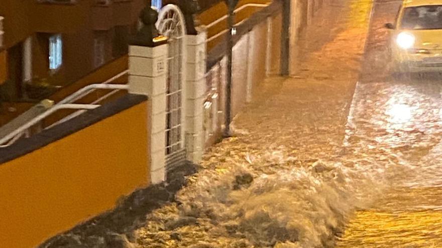 Lluvia en Gran Canaria (21/10/2020)