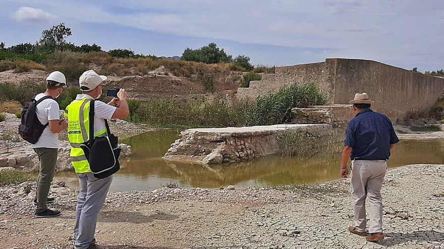 El PSOE urge al Consell a reconstruir azudes de la rambla de Abanilla