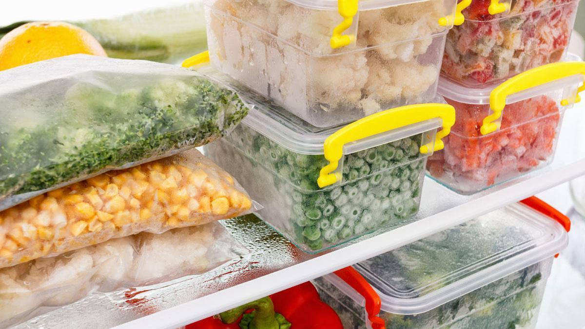 Consejos para congelar y descongelar alimentos.
