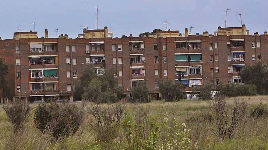 Vista del barrio de Baladre. | DANIEL TORTAJADA