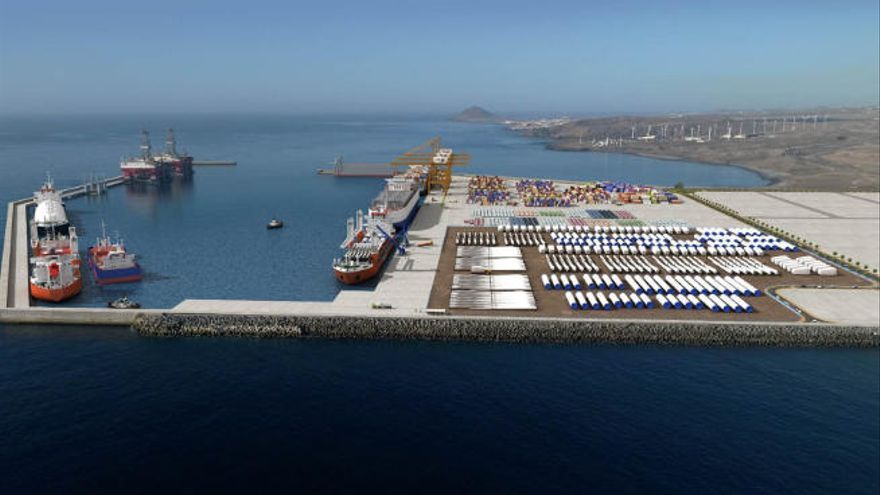 La Autoridad Portuaria de Santa Cruz de Tenerife adjudica obras por 14 millones