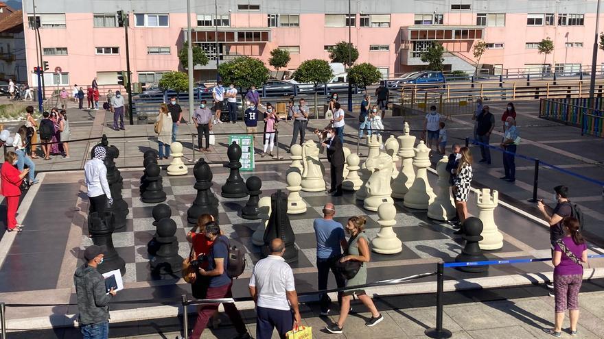 Qué hacer hoy en Vigo: conciertos gratis, cine o estreno del ajedrez más grande del mundo