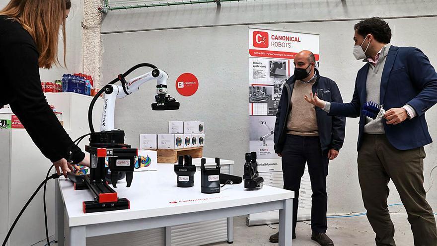 Una empresa gijonesa lidera la construcción de robots colaborativos para la industria