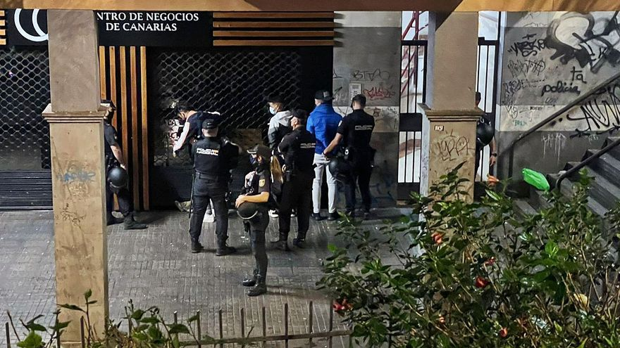 El operativo policial borra el botellón y el vandalismo del Cuadrilátero