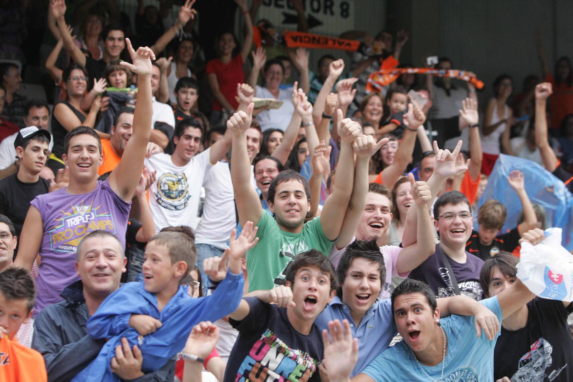 Imágenes, ya históricas, de la grada de Mestalla, que pueden volver pronto