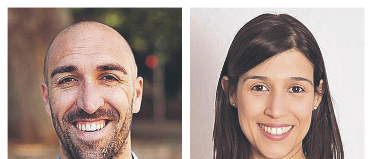 Vicent Tornero y Clara Chorques.