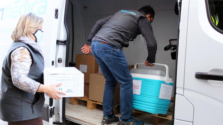 La distribución farmacéutica ofrece 30.000 rutas para repartir vacunas Covid