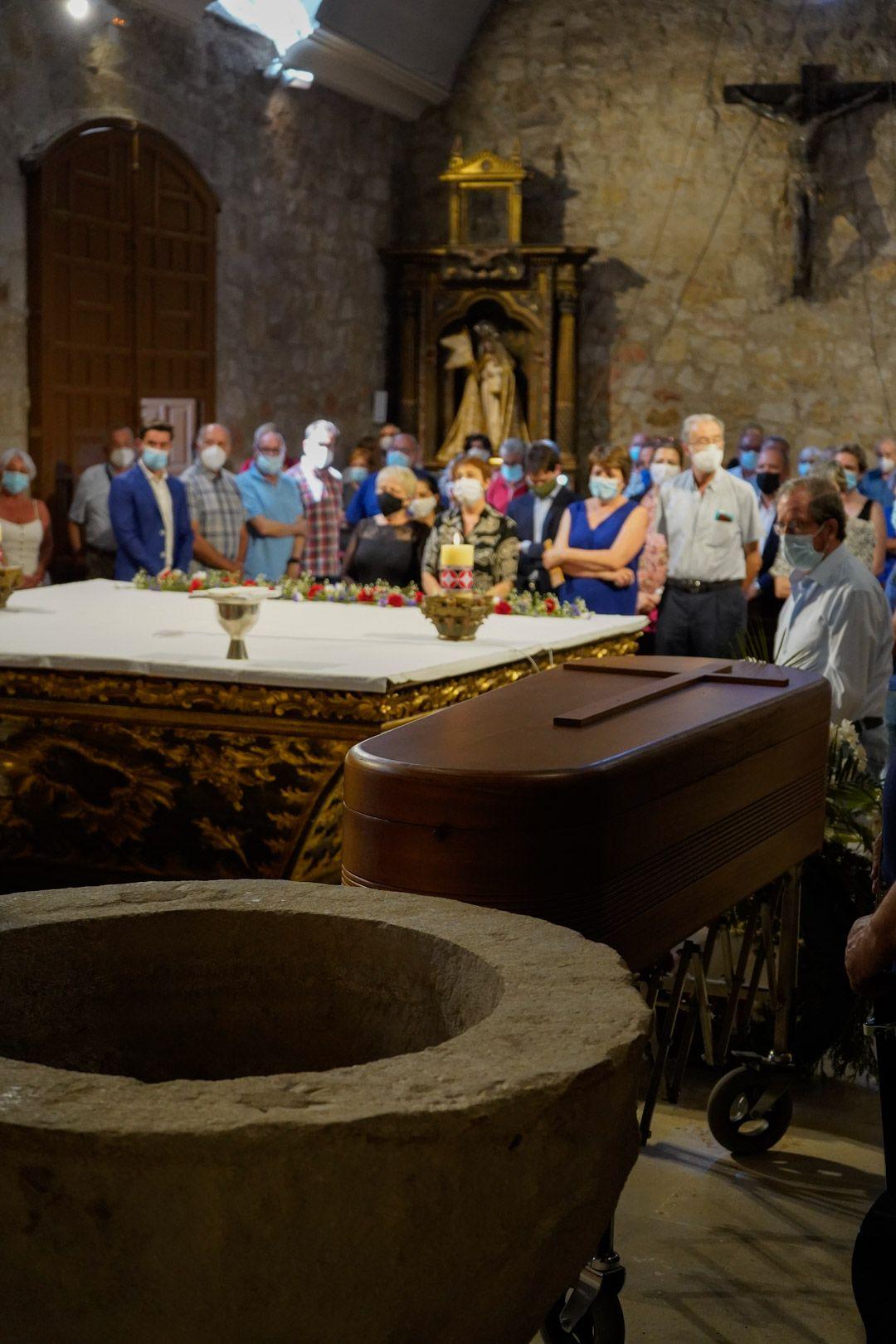 Funeral por el socialista Emilio Petisco