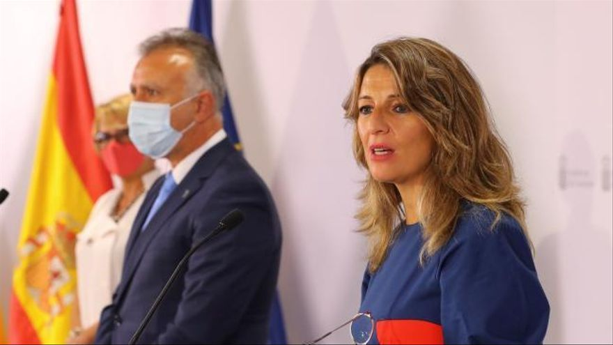 """Yolanda Díaz, sobre la marcha de Juan Carlos I: """"La imagen es muy mala para nuestro país"""""""