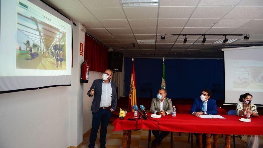 El centro de menores y el nuevo vial, la mayor inversión de la Junta en Plasencia, 10,4 millones
