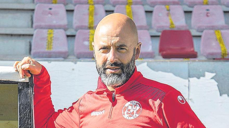 """David Movilla, entrenador del Zamora CF: """"A este equipo se le pueden reprochar muy pocas cosas"""""""