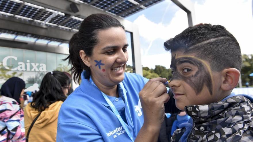 Voluntarios de La Caixa en Zamora, Salamanca y Ávila celebran una jornada dedicada a los niños