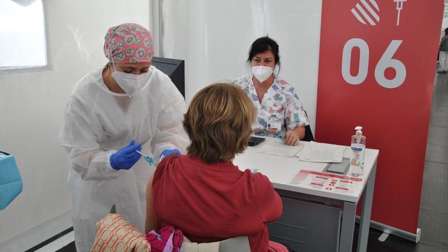 La Comunitat Valenciana lleva vacunadas más de 100.000 personas de otras comunidades