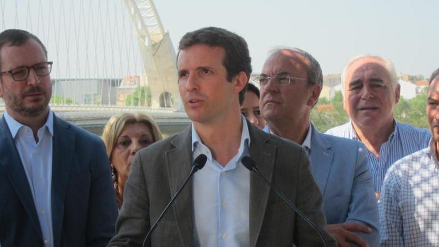 """Casado assegura que """"l'independentisme és violent i sempre ho ha estat"""""""