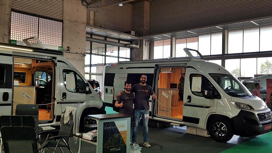 Entre caravanas para teletrabajo y cursos en América