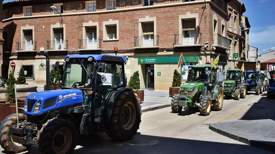 """Los agricultores salen a la calle para exigir una PAC """"profesional y justa"""""""