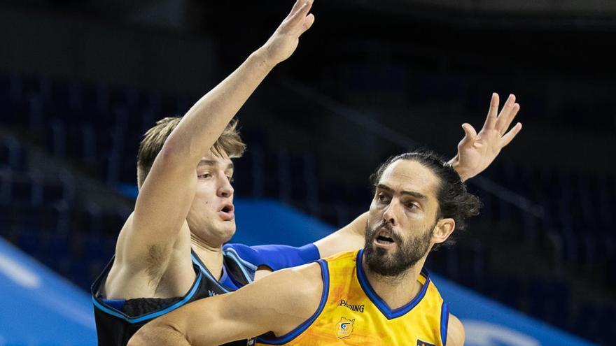 El Gran Canaria aparta del equipo a su capitán, Javier Beirán