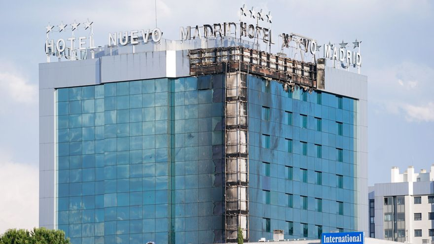 Evacuades 200 persones d'un hotel de Madrid per un incendi
