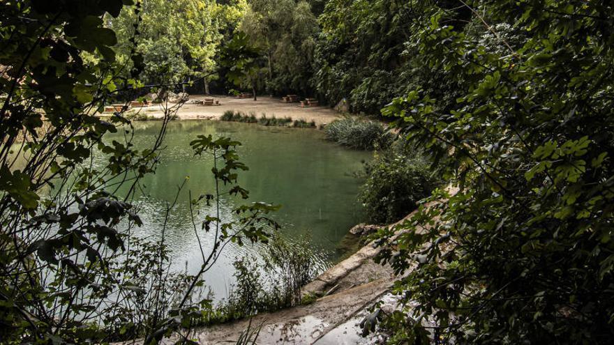 El río Buñol, el río de los molinos y las fuentes