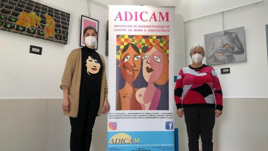 Cangas entrega 10.000 euros a Adicam por su trabajo en el confinamiento y en la pandemia