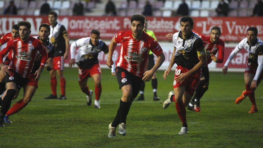 El Zamora CF pierde ante el Unionistas de Salamanca tras desaprovechar sus opciones (0-2)