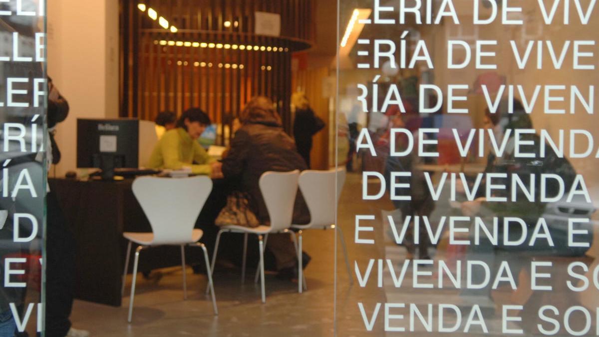 Una oficina del Instituto Galego de Vivenda e Solo.