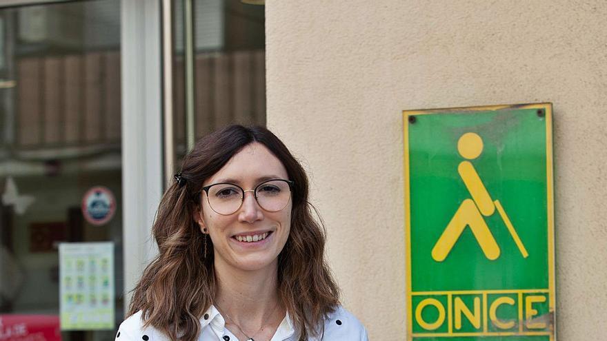 Iris Alemán, directora de la ONCE Ibiza: «La crisis se ha notado en las ventas del cupón»