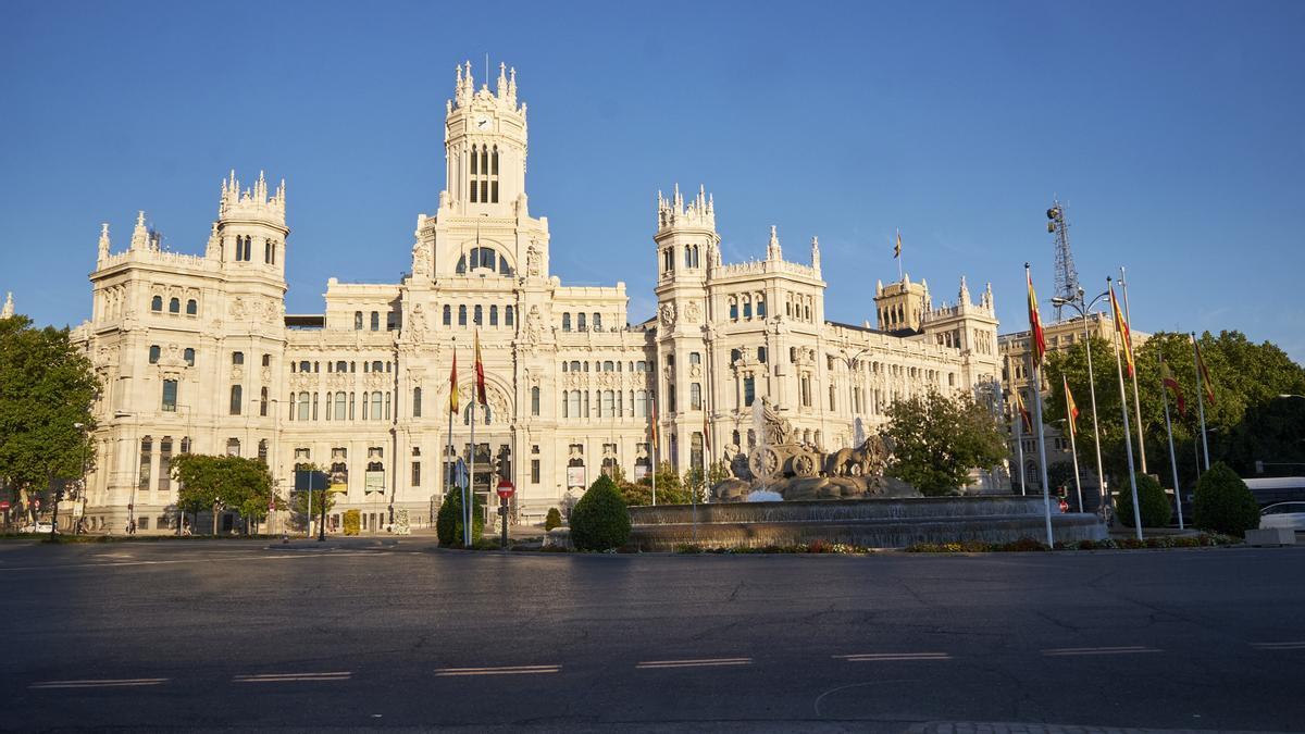 The Palacio de Cibeles, headquarters of the Madrid City Council