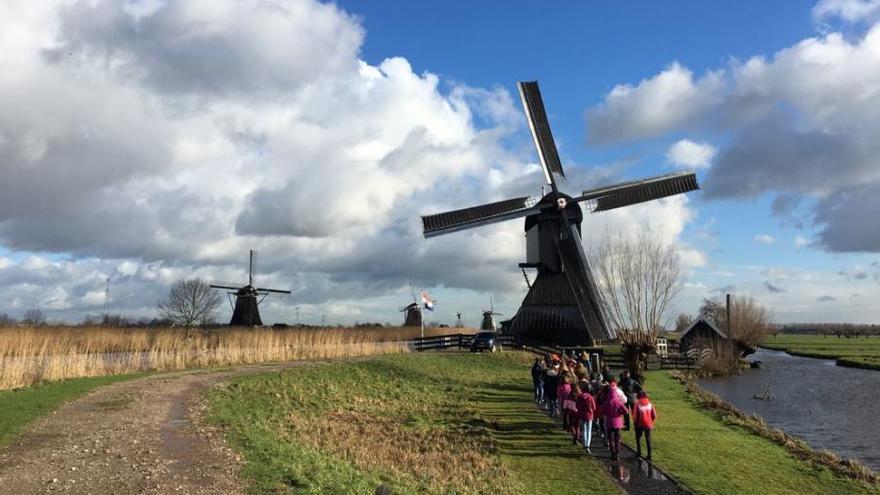 Benavente   Alumnos de Los Sauces viajan a Breda en un proyecto de gestión del agua