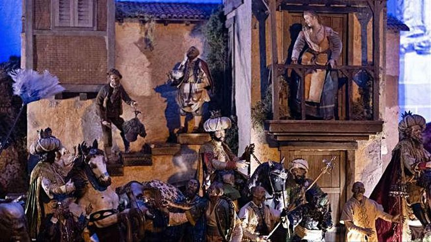 Último día para ver los belenes abiertos al público en Zamora durante la Navidad