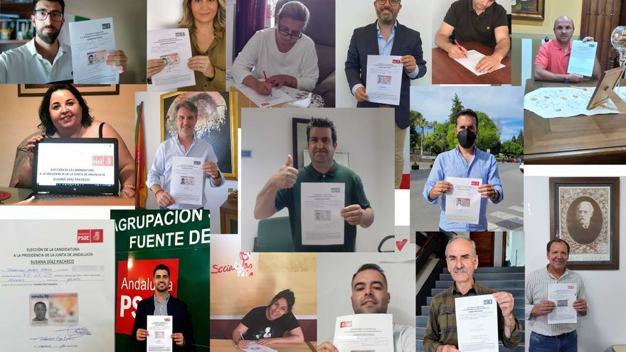 Alcaldes, portavoces y secretarios generales de PSOE de Antequera y Guadalteba avalan a Susana Díaz