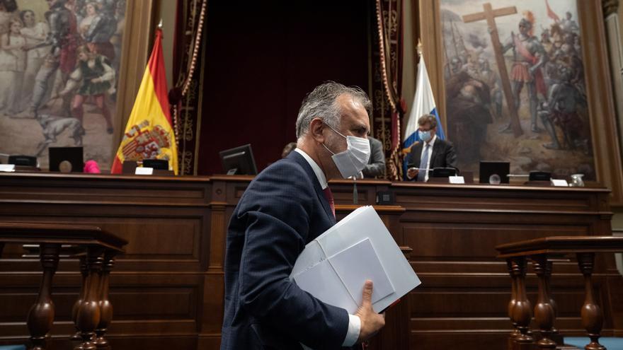 El presidente de Canarias dice que se ha ordenado el pago de cerca de 5 millones de las ayudas a pymes