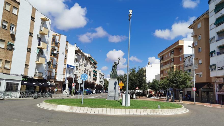 La plaza de Extremadura de Almendralejo tendrá cámaras de vigilancia