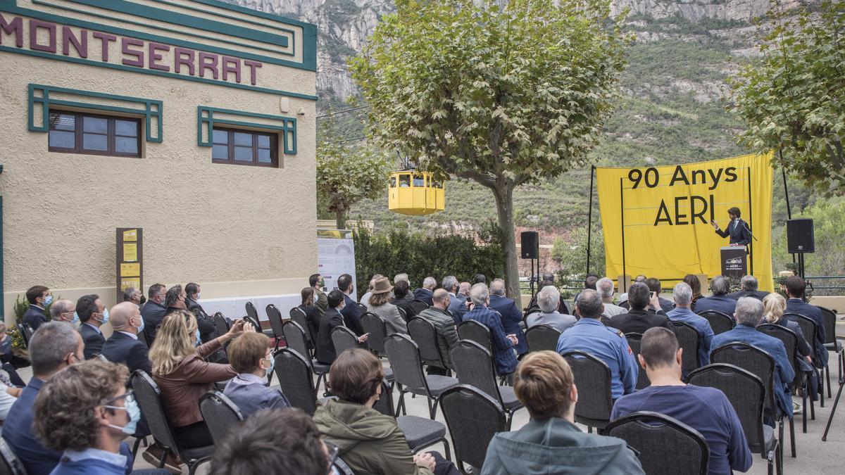 L'aeri de Montserrat celebra els seus 90 anys de vida
