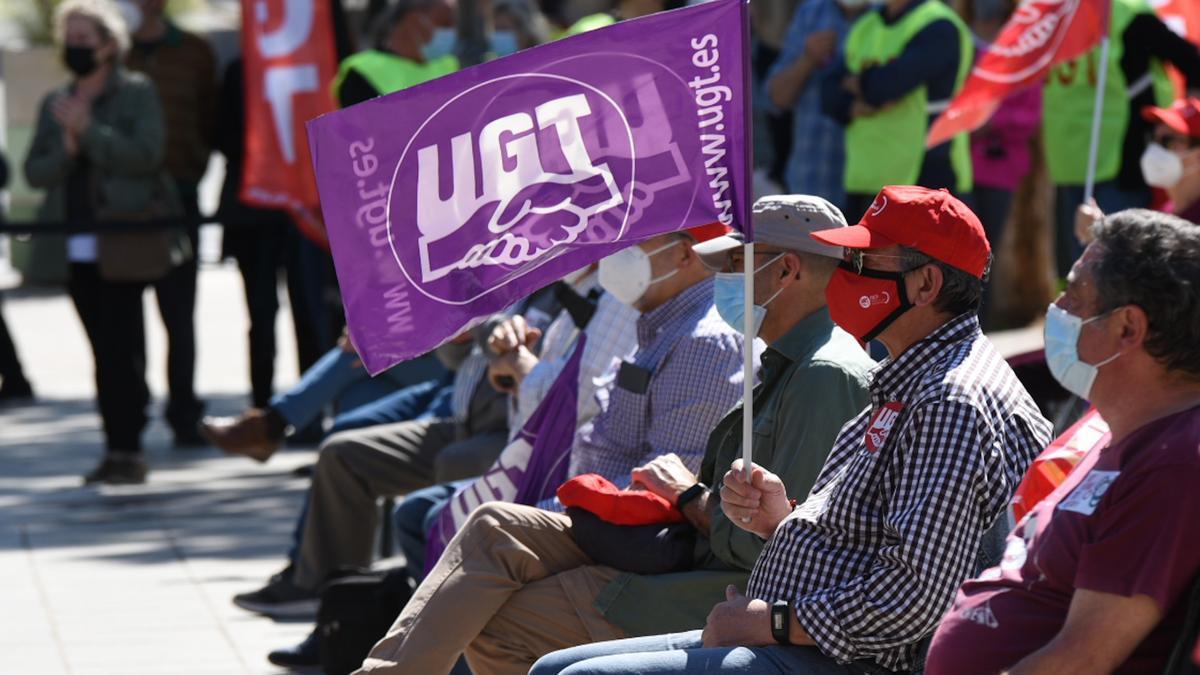 Participantes de la manifestación de Barcelona.