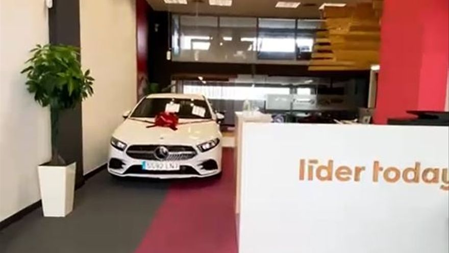 Líder Today sortea un Mercedes Clase A de nueva matriculación
