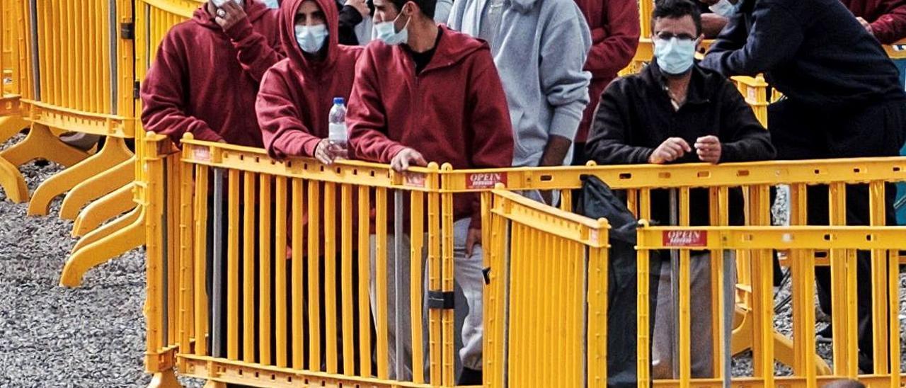 Imagen del centro de acogida temporal de extranjeros de Barranco Seco.
