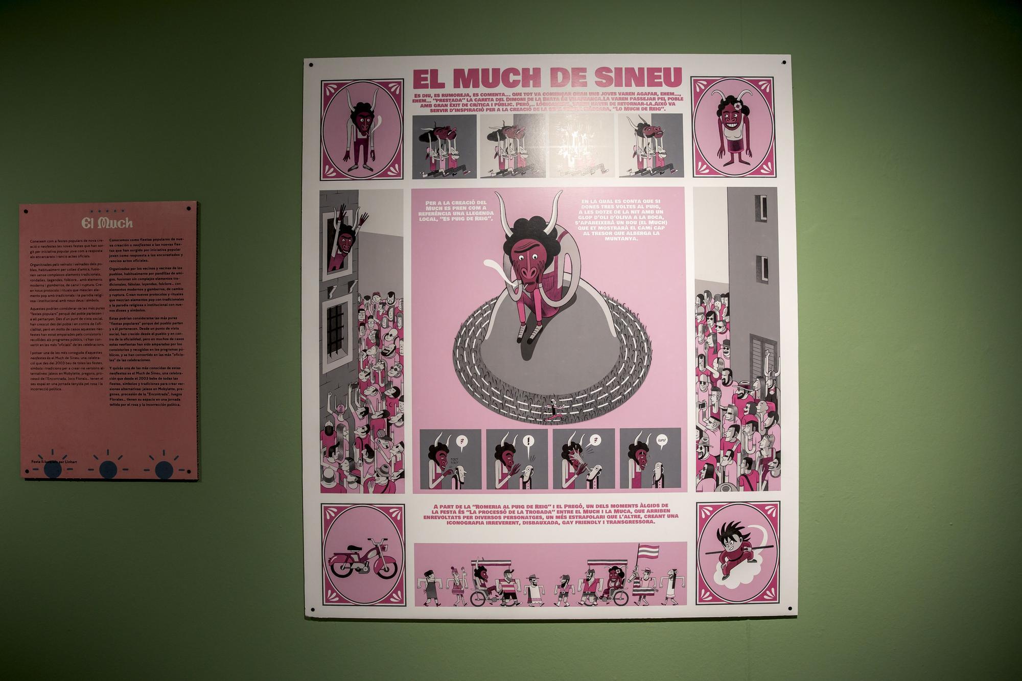 Las fiestas de Mallorca se transforman en ilustraciones y cómics