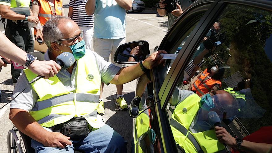 'No cambies de rueda': la nueva campaña de control de velocidad de la DGT